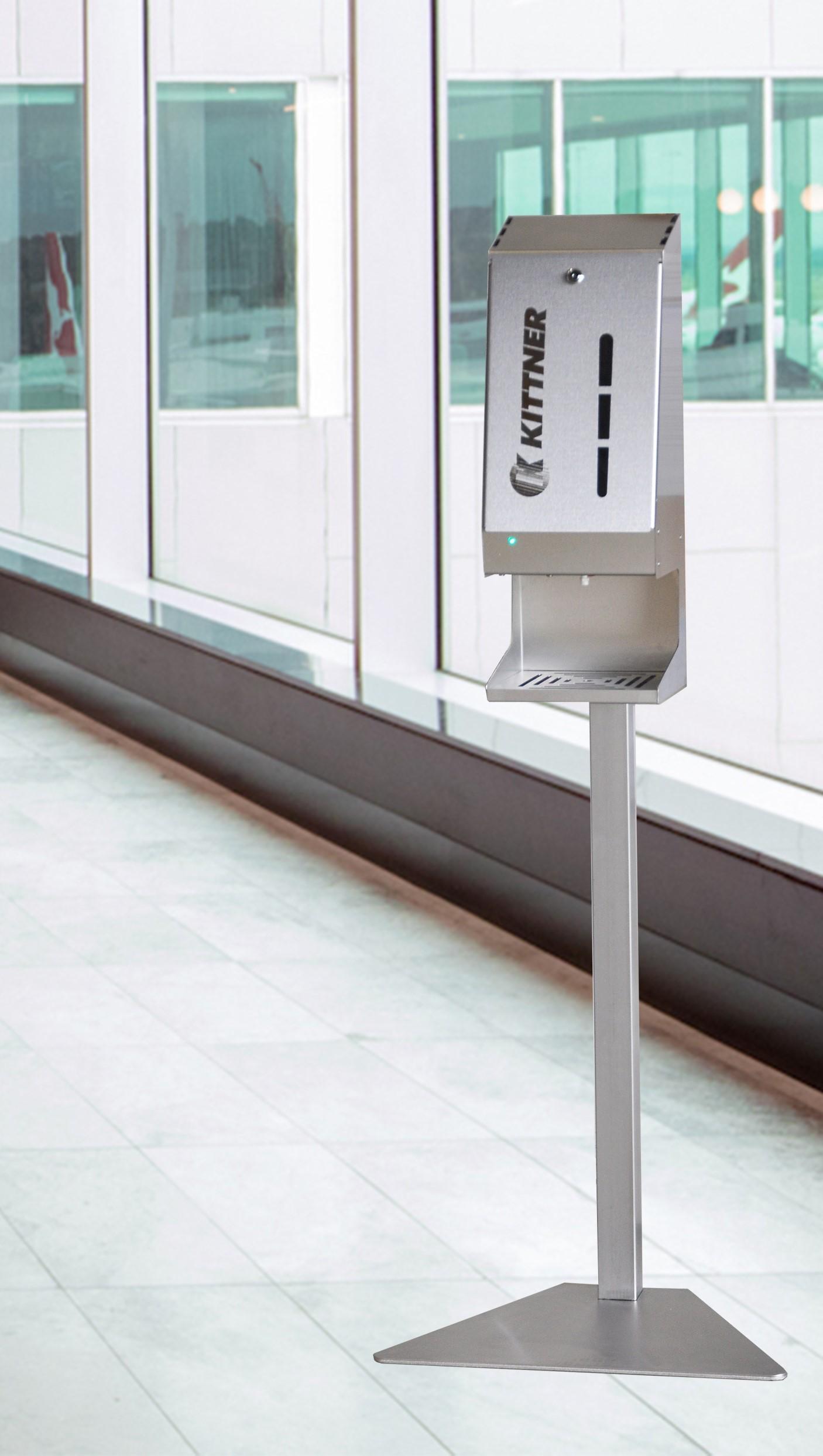 Автоматичен дезинфектор за ръце с фотоклетка